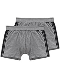Schiesser Herren Unterhose Shorts, 2er Pack,