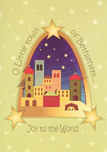 religious-christmas-cards-set-of-16-cards-and-envelopes-o-little-town-of-bethlehem-joy-to-the-world-
