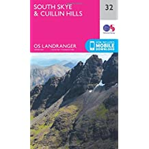 South Skye & Cuillin Hills 1 : 50 000 (OS Landranger Map)