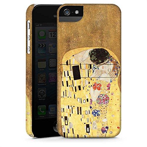Apple iPhone 6s Plus Silikon Hülle Case Schutzhülle Klimt The Kiss Kunst Premium Case StandUp