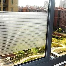 aingoo rayas opaca para ventana pantalla de privacidad Window Film auto-adhesivos Your Design 028 90 x 200 cm