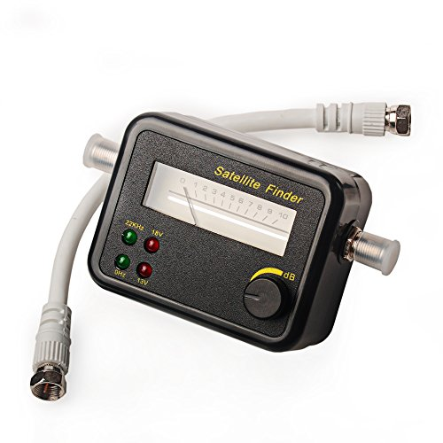 Sat-Finder SF9504 Satfinder F-Kabel Satelliten Finder Sucher F-Buchse HD TV