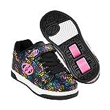 Heelys X2 Dual Up Schuhe schwarz Mädchen Black/Hands, 31