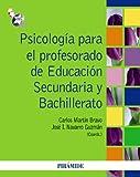 Psicología para el profesorado de Educación Secundaria y Bachillerato - 9788436825633