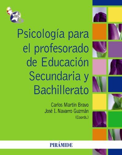 Psicología para el profesorado de Educación Secundaria y Bachillerato - 9788436825633 por Carlos Martín Bravo