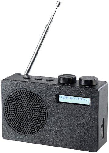 VR-Radio DAB Plus Radios: Mobiles DAB+/FM-Radio DOR-100.rx mit RDS-Funktion (Radio Batterie)