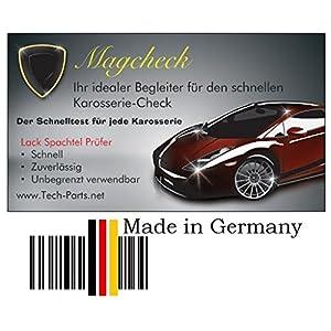 Grip Magcheck Magnetkarte Karosserie Lack Spachtel Prüfer Schichten Tester