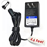 T-Power (TM) (6.6ft Long Cable) AC Adapter Charger Western Digital Wd Tv Live Hd Media Player Tv Mini, Wd My Book External Hard Drive HDD Power Supply Cord