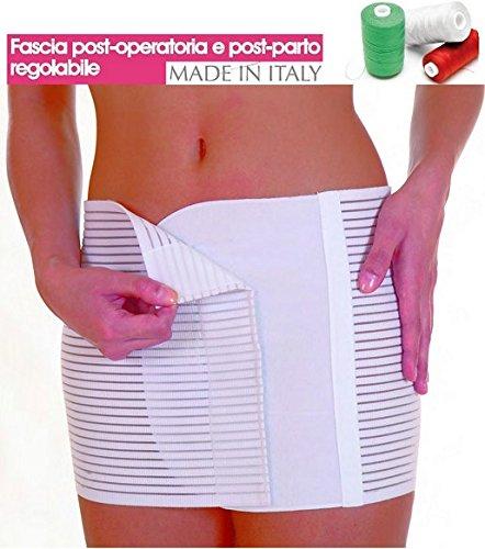 FASCIA POST PARTO TRASPIRANTE ADDOMINALE POSTOPERATORIA APERTURA ADESIVA (Women: 46)