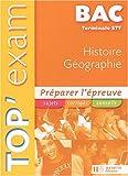 Histoire-Géographie Tle STT (Top'Exam)