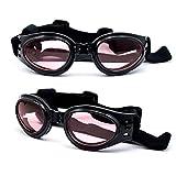 Dreamworldeu Sonnenbrille Hundebrille Sonnenschutz Brille für Hunde Haustier/Schutzbrille Hundesonnenbrille Pet Dog Fashion UV Sunglasses