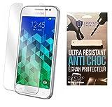 iPomcase Protector de pantalla de cristal templado, antigolpes, para Samsung Galaxy Core Prime G360