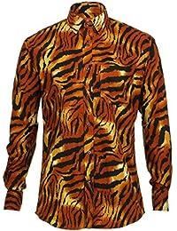 Loud Originals Regular T-Shirt Manica Lunga - Tigre 374dd47275d