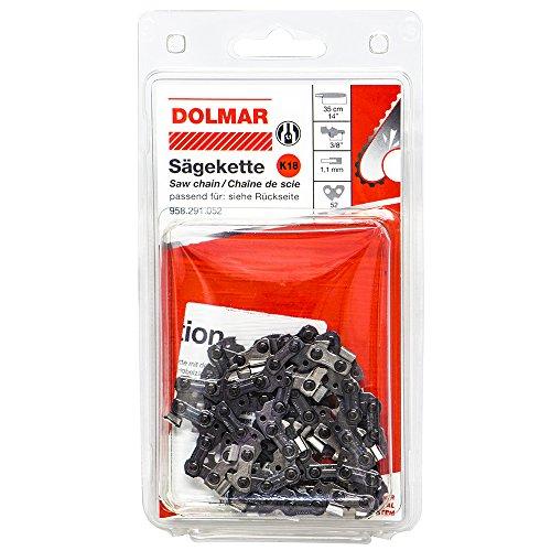 Dolmar 958291052 Chaîne de scie N° 18 52G Micro Lite 35 cm