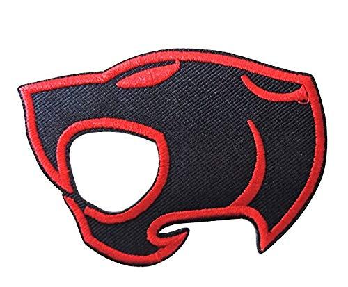LipaLipaNa Thundercats Cutout Logo Embroidered Iron on Patch Aufnäher Besticktes Patch zum Aufbügeln Applique Souvenir Zubehör