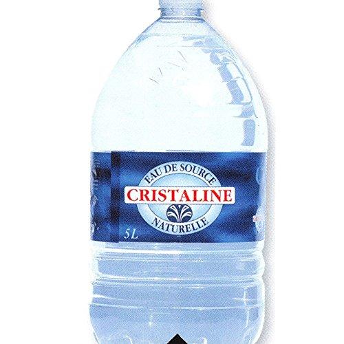 Cristaline Eau de Source Naturelle PET 1 x 5 l Flasche (natürliches Mineralwasser)