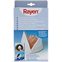 Rayen 6391 - Malla lavadora lenceria, funda para ropa delicada, color blanco
