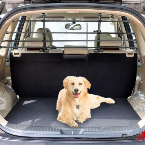 VOLKSWAGEN VW TIGUAN (2007 ON) Deluxe Pet Dog Guard Adjustable Headrest Safety Barrier
