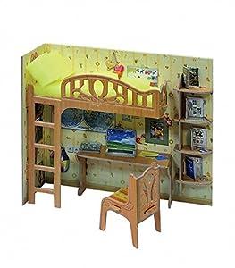 CLEVER PAPER - Puzzles 3D Escritorio Infantil de casa de muñecas (14263)