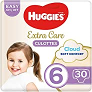 Huggies Extra Care Pants - Size 6, 15-25 kg, 30 Diaper Pants