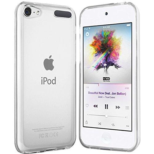 moodie Silikonhülle für iPod Touch 2019 Hülle in Transparent - Case Schutzhülle Tasche für iPod Touch 7G und 6G - Schutzhülle Touch Ipod