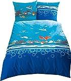 Kaeppel Kinderbettwäsche Unter Dem Meer 135x200 cm + 80x80 cm