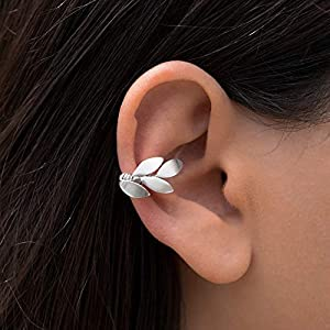 925 Sterling Silber Elf Ohr Stulpeohrring, Ohr Manschette für nicht durchbohrtes Ohr, Neugriechisch Ohrring…