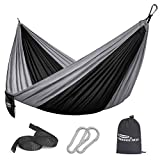 Forbidden Road Hammock Single Double Camping Lightweight Portable Parachute Hammock for Outdoor Hiking