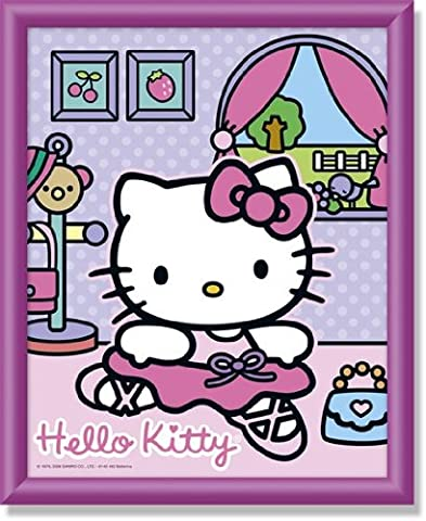 Schipper 609140462 - Malen nach Zahlen, Hello Kitty als Ballerina, 20x25 cm