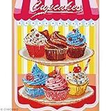 Pracht Creatives Hobby GmbH Diamond Dotz Cup Cakes 40,6 x 50,8cm