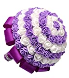 Kapmore Fairy Saison Künstliche Bridal Rose Blumen für Hochzeit Halten