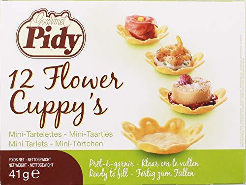 Pidy - Flower Cuppy's Mini-Törtchen - 41g 12St