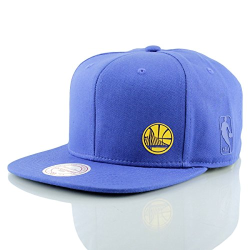 Mitchell & Ness NBA Absolut Golden State Warriors Snapback Cap (one size, royal)