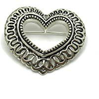 Spilla in argento 925 Cuore A000