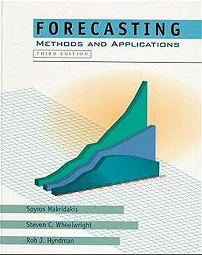 Forecasting: Methods and Applications por Spyros G. Makridakis