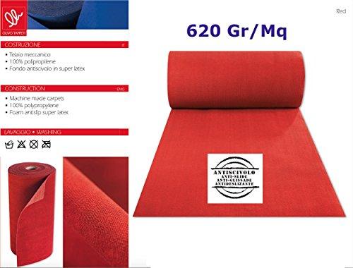 Olivo tappeti tappeto nuziale natalizio passatoia rosso corsia guida matrimonio cerimonia mt 10
