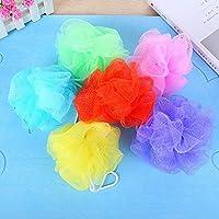 Kaige Baño bola Multi espuma baño bola baño puede colgar cinco piezas de baño frotar ambientalmente Durable baño flor pack