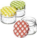 Tescoma 895110Pot pour Conserve 125ML, Transparent/Bouchon Multicolore,...