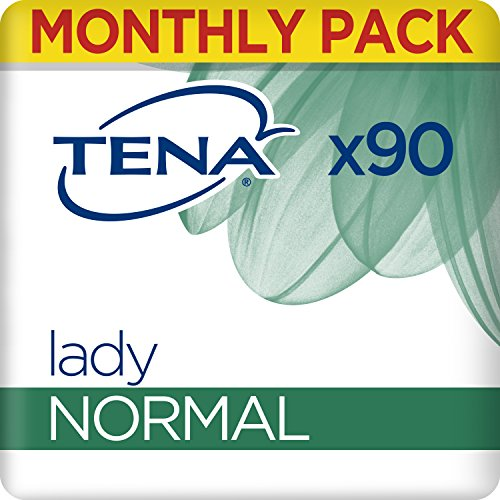 TENA Lady Normal, Compresas - 90 Unidades