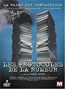 Les Protocoles de la rumeur - Edition 2 DVD