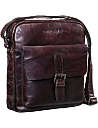 ecc2ea09f7 STILORD  Luan  Small Shoulder Bag Leather Vintage for Women and Men  Messenger Bag with