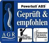 Togu Gymnastikball Powerball ABS (Berstsicher), blau, 65 cm - 2
