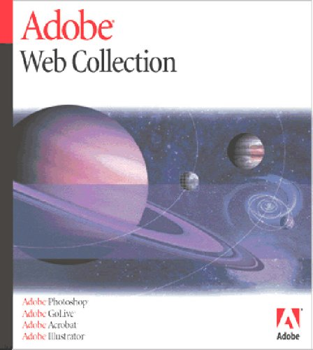 Web Collection 6.0 Mac (GoLive 6.0, Photoshop 7.0, Illustrator 10, Acrobat 5.0)