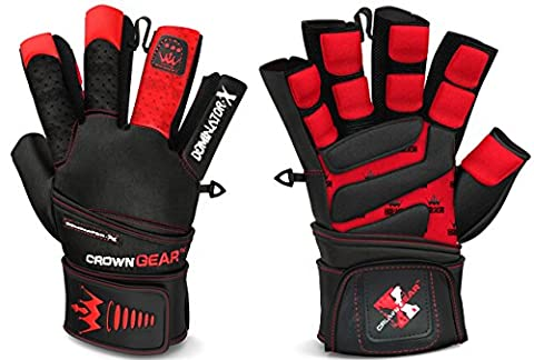 Weightlifting Gloves for Gym Fitness Crossfit Bodybuilding - Workout Gloves
