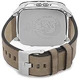Diesel bracelet de montre DZ7303 Cuir Blanc crème / Beige 24mm (SEULEMENT LE BRACELET DE MONTRE - MONTRE NON INCLUE!)