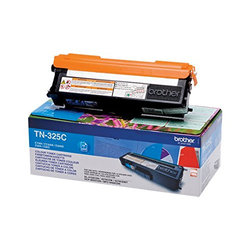 Brother Tn325c Toner Cartridge, High Yield, Cyan, Brother Genuine Supplies