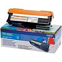 Brother Original Jumbo-Tonerkassette TN-325C cyan (für Brother HL-4140CN, HL-4570CDW, HL-4150CDN, HL-4570CDWT, DCP-9055CDN, DCP-9270CDN, MFC-9460CDN, MFC-9970CDW, MFC-9465CDN)