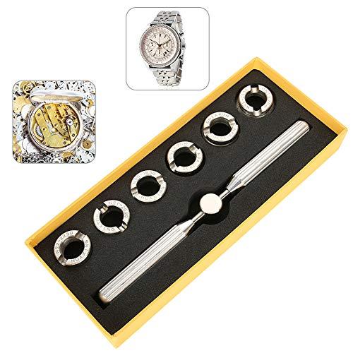 TMISHION Kit di Riparazione Orologi Professionale, Rolex Oyster Key Repair Tool Set,Apricasse per Orologio Professionale per Rolex e Tudor con Misure Diverse E Scatola