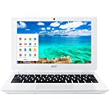 Acer Chromebook 11 CB3-111, 11.6 inch (Intel Celeron N2830, 2 GB RAM, 16 GB Storage, WLAN, BT, Webcam, Chrome OS) - White