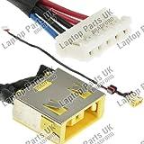 LENOVO G400, G400S, G490, G500, G505 DC Power Jack, Conector de Alimentación, Enchufe, Conector de puerto con el cable p/n: DC301000Y00